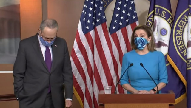 Speaker Nancy Pelosi & Senate Democratic Leader Chuck Schumer on Stimulus, Covid, Elections & More