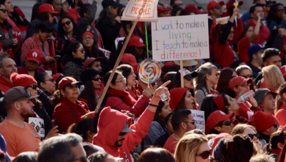 California's Largest Teachers Union Wins Subsidized Child Care Ahead of Reopening