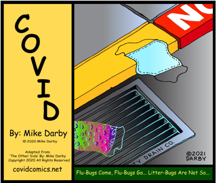 A Covid Comic for Your Sunday ~ By Mike Darby